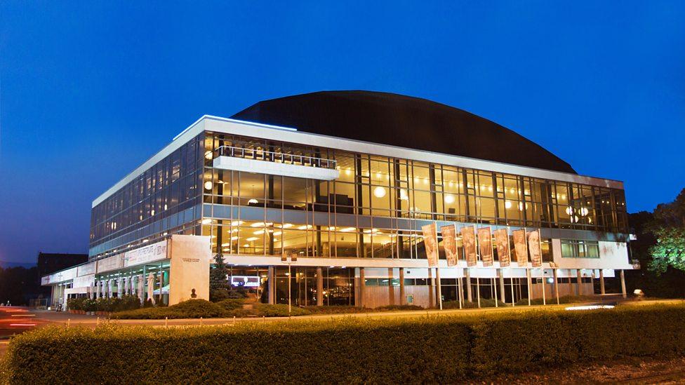 Lisinski Concert Hall in Zagreb